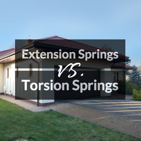 Torsion Spring Vs. Extension Spring